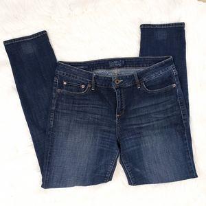 Lucky Brand Lolita Skinny Jeans size 12/31 dark